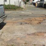 Ubatã: Populares reivindicam reparos na pavimentação da Severiano Costa